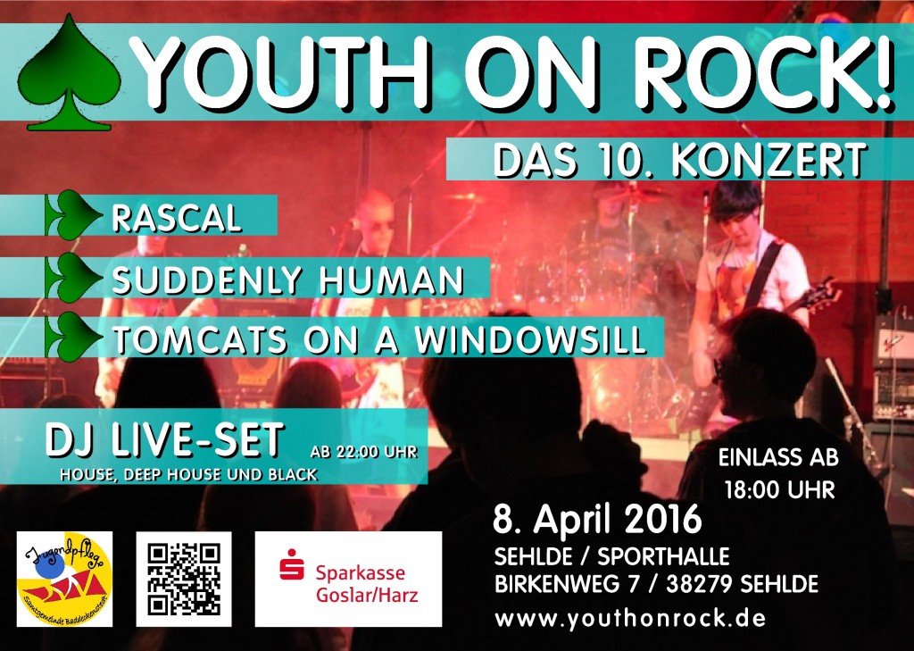 Youth on Rock Plakat 2016